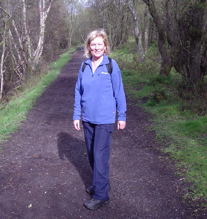 Shirley in Mugdock Wood